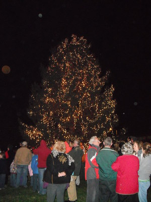2009's Community Tree Lighting