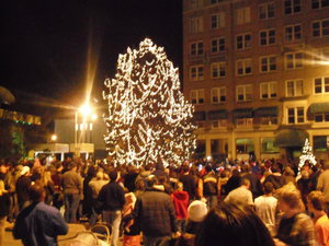 Christmas Tree Lighting, 2011