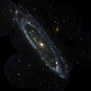 Andromeda Galaxy, NASA/JPL/California Institute of Technology
