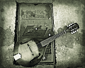 Music on the Sidewalk by Mandy Barker