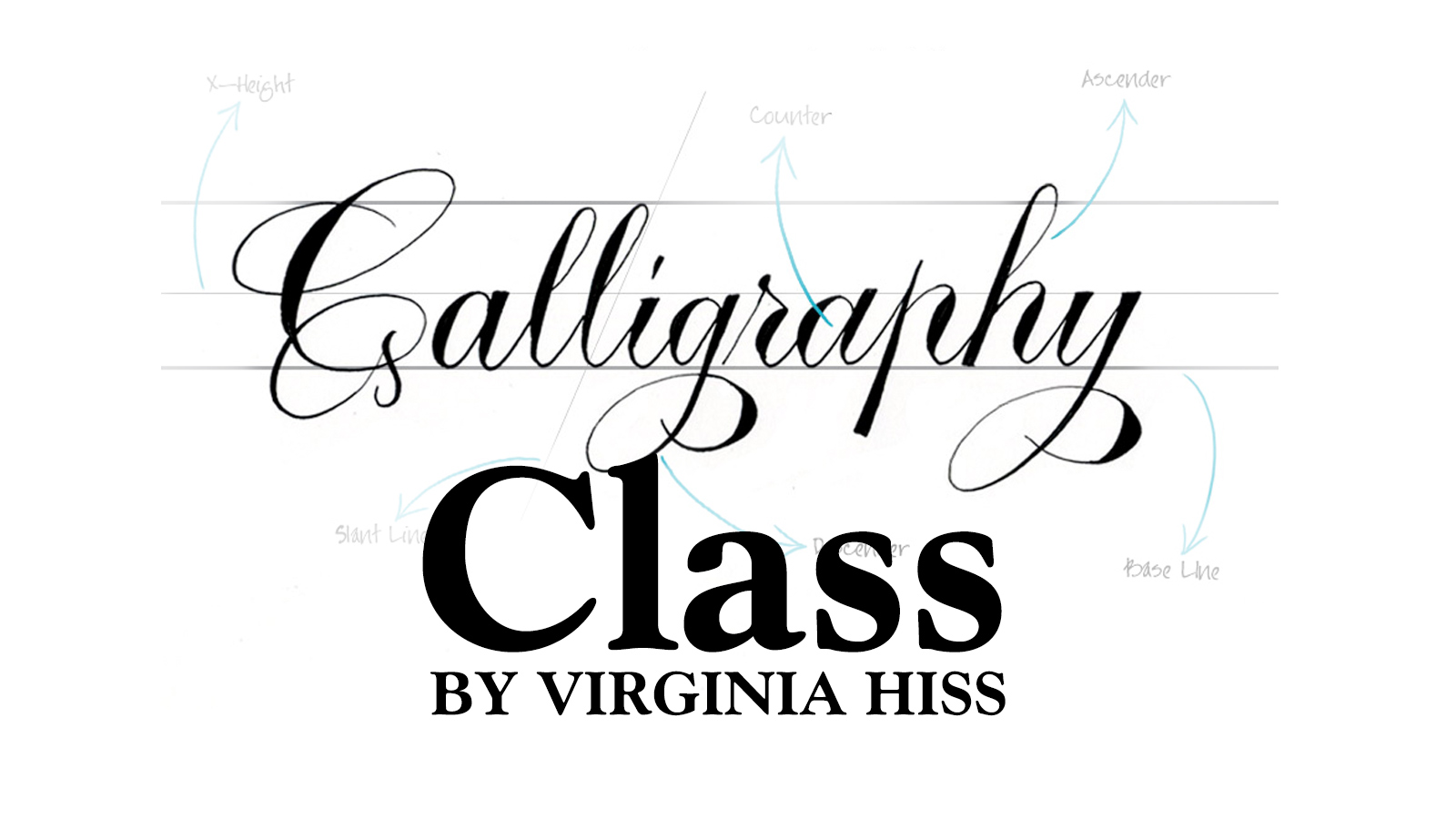 Calligraphy Class Session Two At A Work Of Art Gallery