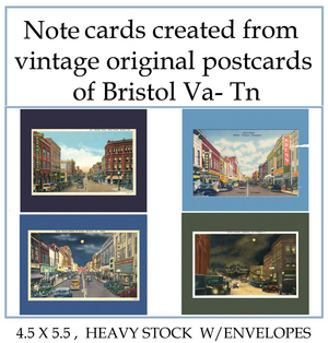 Bristol va tn themed greeting cards and post cards created by bristol va tn themed greeting cards and post cards created by denise beverly are now at white dog papery downtown bristol blog believe in bristol fandeluxe Image collections