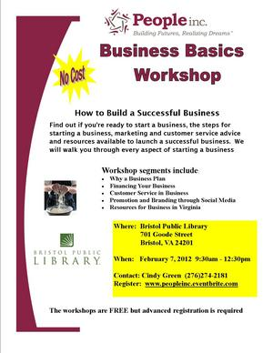 Free business basics workshop at the bpl downtown bristol blog free business basics workshop at the bpl january 30 2012 fandeluxe Gallery