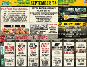 There S Always Something Happening At Quaker Steak Lube