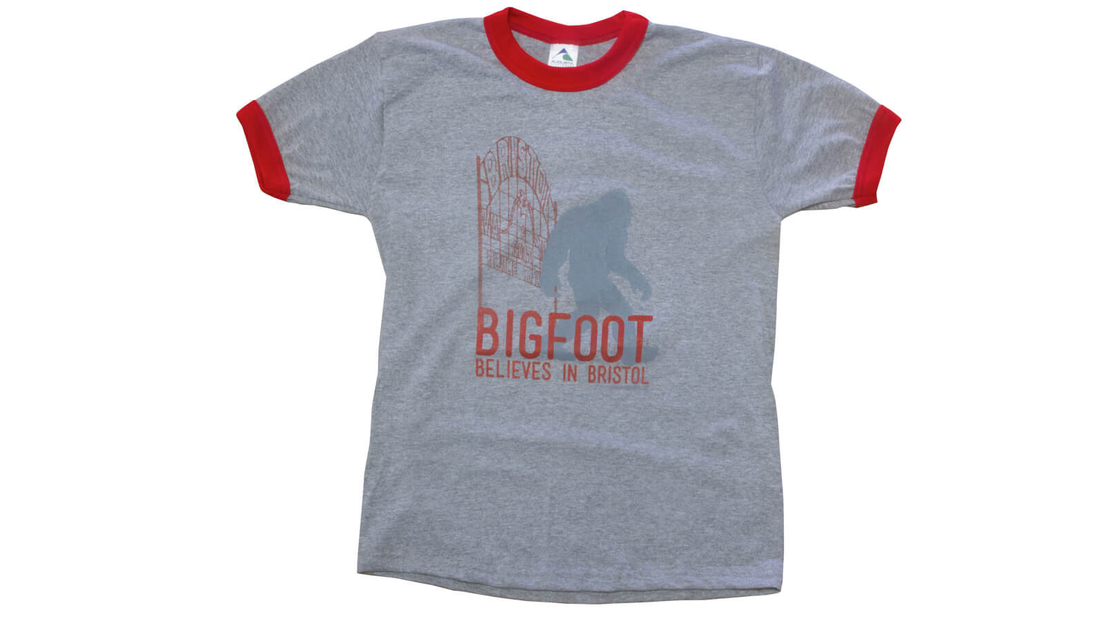 Bigfoot T-shirt (Grey/Red)