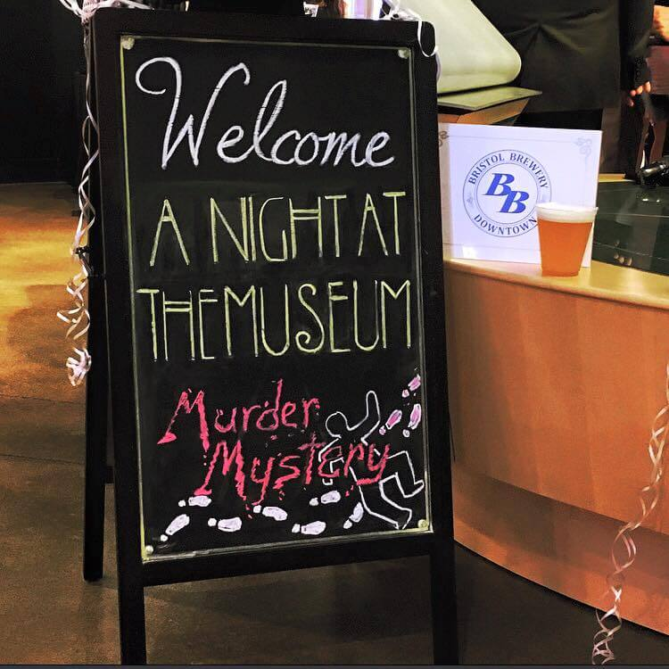 2016 Downtown Showcase: A Night at the Museum Murder Mystery Themed Party