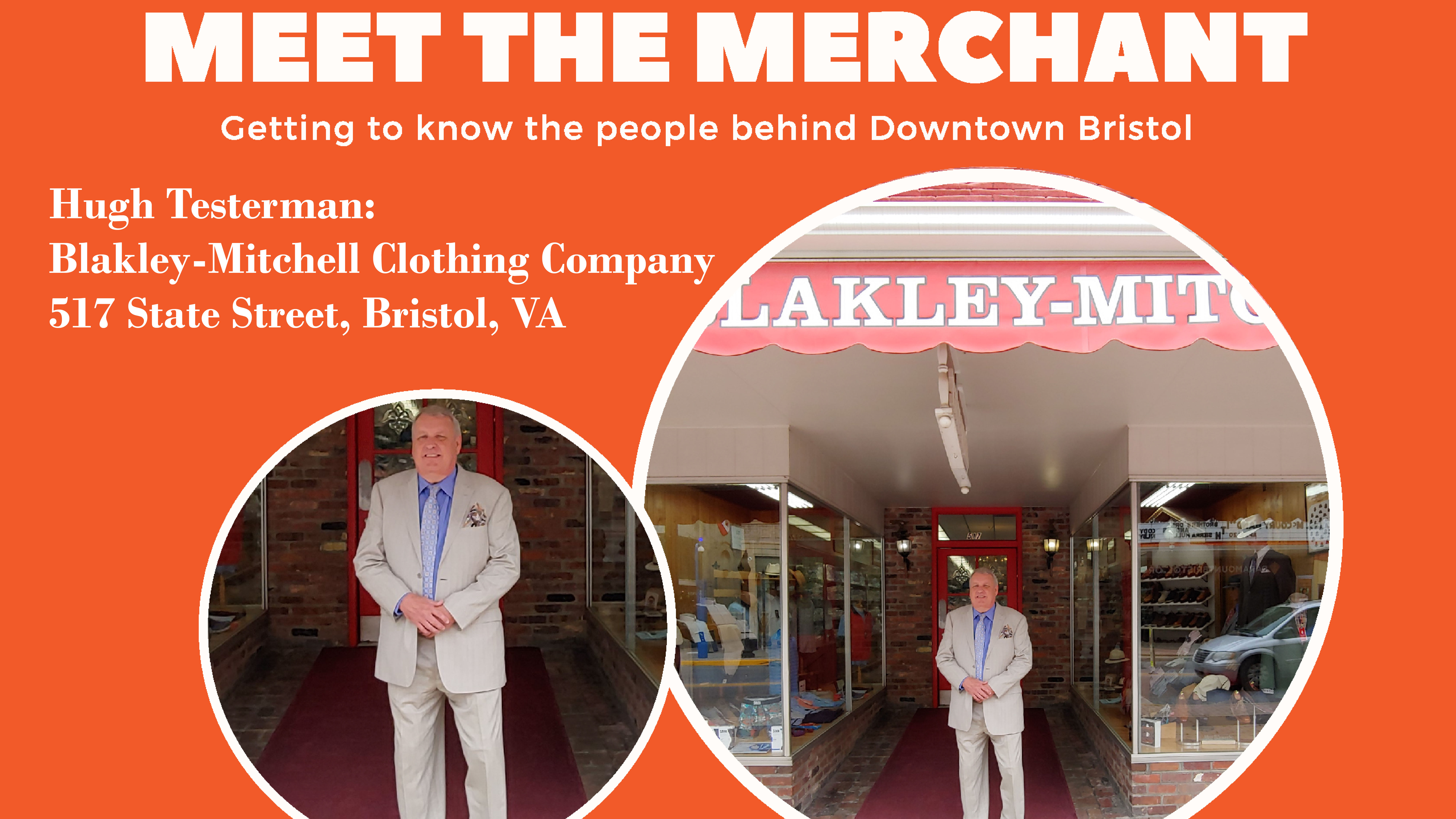 fdd01bcad4b Meet the Merchant  Hugh Testerman with Blakley-Mitchell Clothing Company